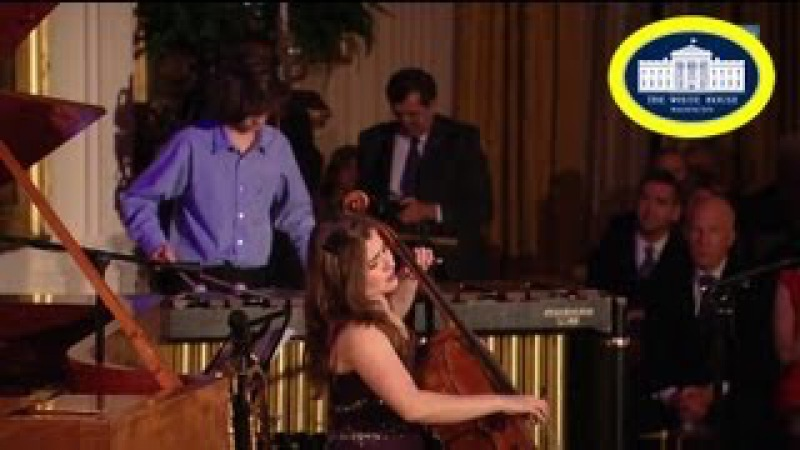 Classical Music Alisa Weilerstein Cello and Jason Yoder on Percussion White House