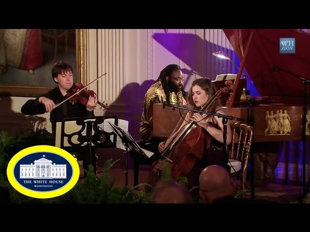 Classical Music - Joshua Bell, Awadagin Pratt, Alisa Weilerstein Live Performance White House