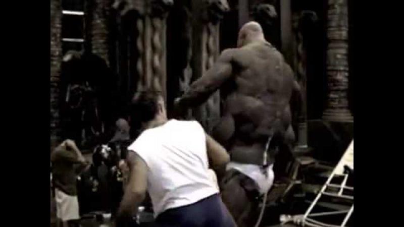 Смертельная битва съёмки фильма