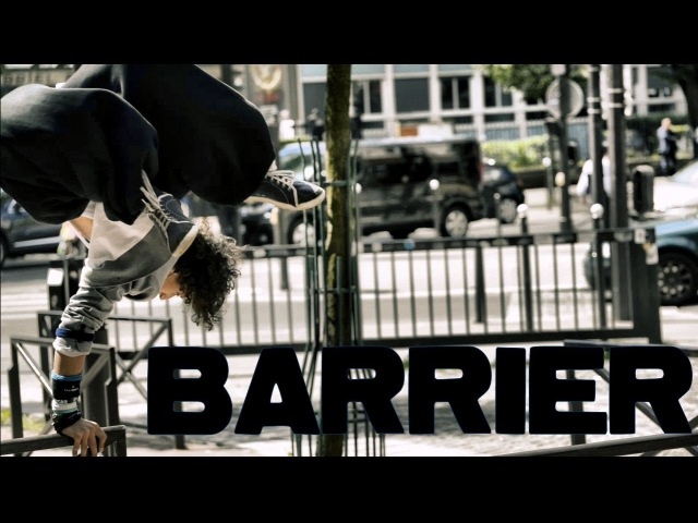 Simon Nogueira ... Barrier ... Parkour / Freerun