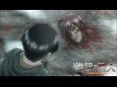 Levi's rage - Attack On Titan No Regrets Episode 2 OVA Shingeki no Kyojin