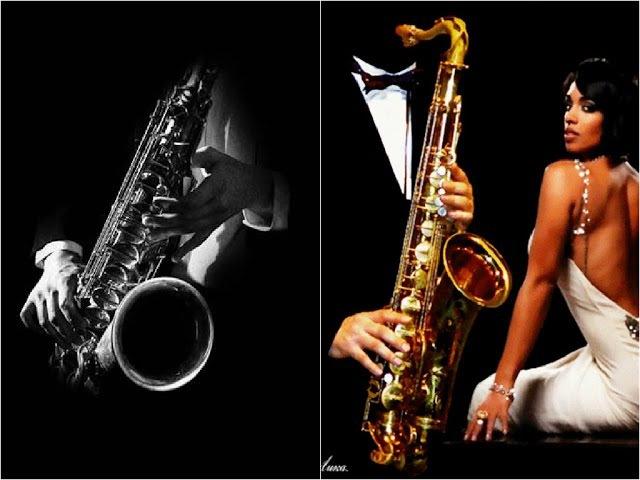 Блюз Саксофон Музыкальная Импровизация. Musical improvisation. (HD)