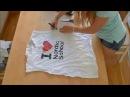 Реконструкция старых футболок 6 идей Vera Belinskaya