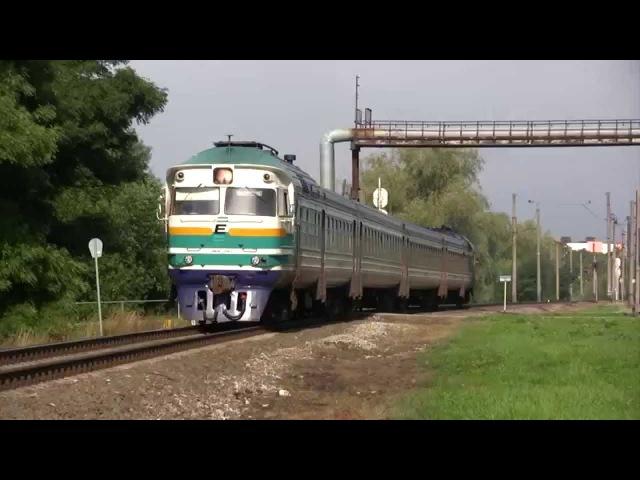 Дизель-поезд ДР1А-229/228 близ ст. Таллин-Вяйке / DR1A-229/228 DMU near Tallinn-Väike
