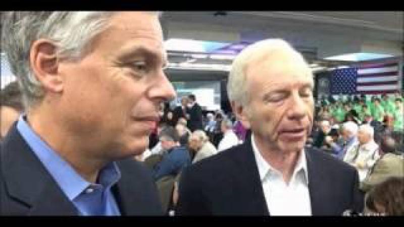 Jon Huntsman and Joe Lieberman Break Down the Partisan Barrier