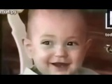Ржач!!! -- Самый заразительный детский смех :) Прикольный ребенок