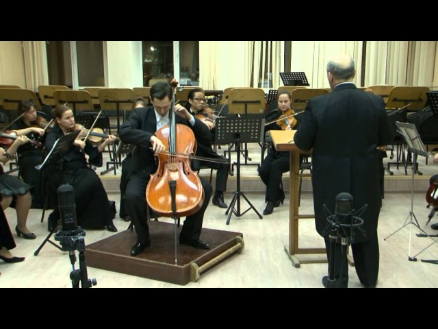 Eugene Prokoshin (cello) plays Goltermann Capriccio with