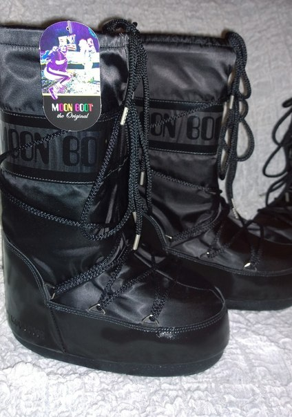 Сапоги Tecnica Moon Boot черный цвет - купить за 2999