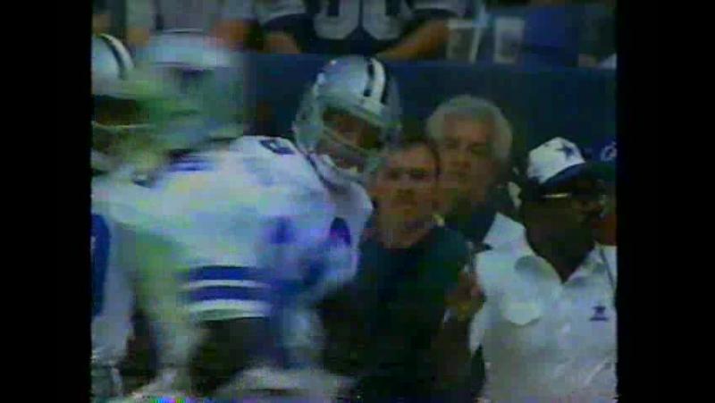 NFL 1992-1993, Week 06, 11.10.1992, Seattle Seahawks - Dallas Cowboys, 2 половина, Американский футбол, EN