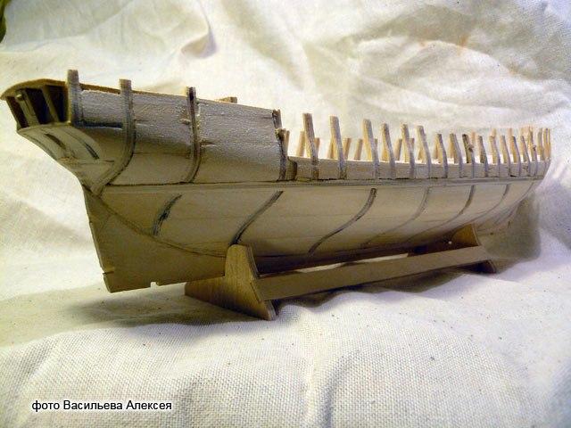 Бригантина Феникс Масштаб 1:72 из своих материалов. T48M-HCoevc