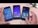 Lenovo k30W vs Meizu M1 mini vs Xiaomi Redmi 2 Сравнение