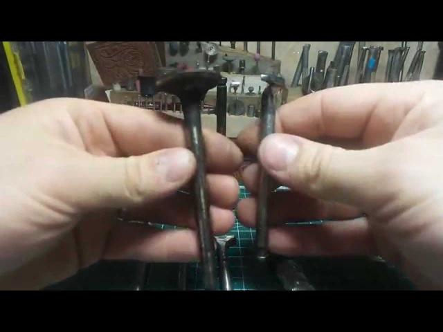 Самодельные штампы для тиснения кожи из клапанов