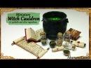 Miniature Cauldron potion ingredients - Polymer Clay Tutorial