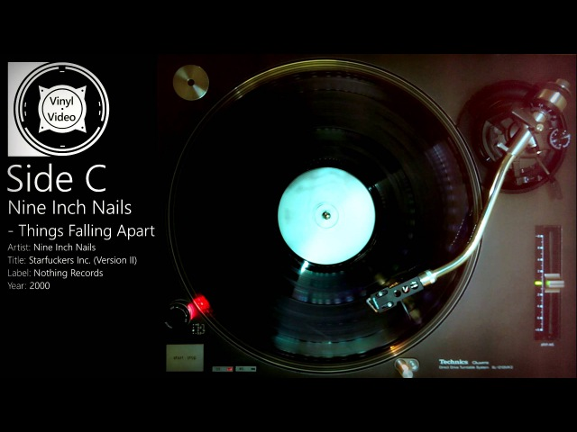 Nine Inch Nails Things Falling Apart Halo Sixteen Whole 12 EP in HD