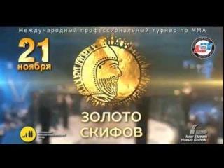 Золото Скифов 2015 - турнир по ММА - СКК Оренбуржье