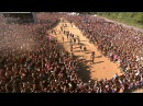 DAGOBA HUGE WALL OF DEATH HELLFEST 2014