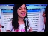 Ana Luiza no programa Silvio Santos - SBT