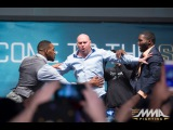 Jon Jones, Anthony Johnson Play Prank on Dana White