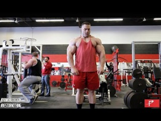 Evan Centopani Trains Arms, Shoulders & Calves - 2 Weeks Out from Arnold Classic 2015