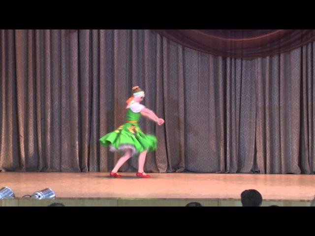 Русский танец ( Постановка Пашкова Д. В. ) музыка: Русская народная музыка — Полянка