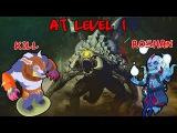 Dota 2 Kill Roshan lvl 1 - Убийство Рошана на 1 уровне