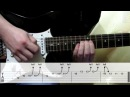 Deep Purple Soldier Of Fortune solo cover how to play guitar lesson