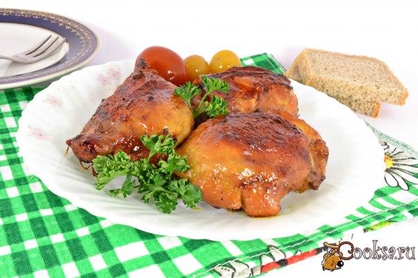 Куриные бедрышки запеченные в мультиварке Предлагаю вам замечательный рецепт приготовления очень вкусных, пряных и ароматных куриных бедрышек в мультиварке.
