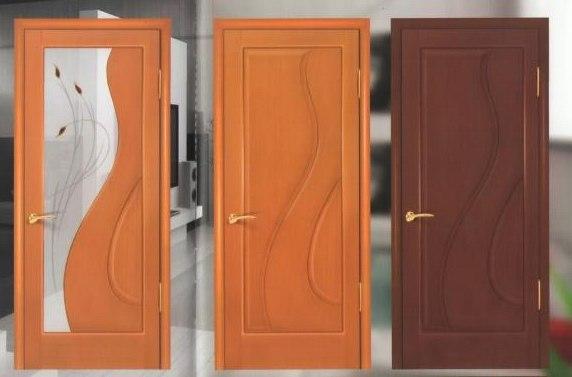 Производство шпонированных дверей