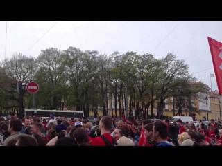 16.05 Роллер пробег 2015 Дворцовая площадь
