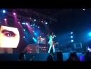 Benja en Clip de su ex novia Lali No Estoy Sola en su concerto en Pilar