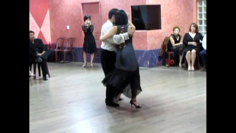 Milonga Lisa Traspie Demo Workshop Georgina Oscar Mandagaran LA 2