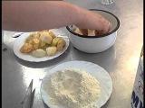 Православная кухня. Яблоки в карамели от повара семинарской трапезной.