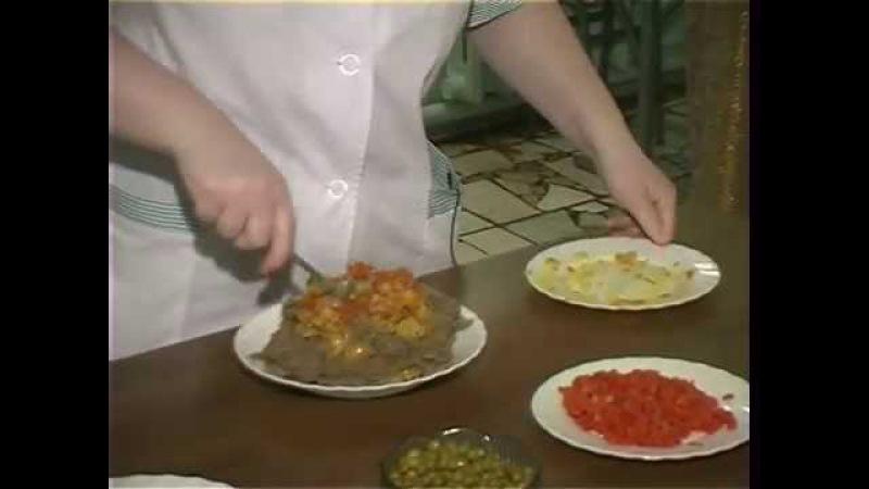 Постная кухня. Рулет из чечевицы от повара семинарской трапезной.