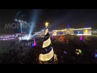 2015 Fireworks: Ulaanbaatar, Mongolia 2015 оны шинэ жилийн ёслолын буудлага