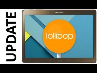 Перепрошивка Samsung Galaxy Tab S 10.5 через Odin на Lollipop