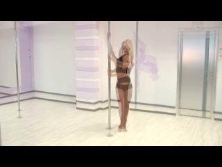 Poledance с Анной Елисеевой #13 продолжающие. Три вариации крутки Стульчик, вариация крутки Ангел