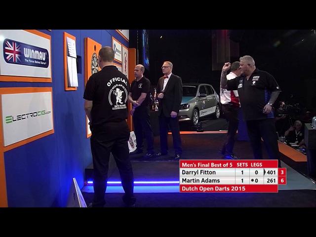 DO2015 Men's Final, Darryl Fitton vs Martin Adams