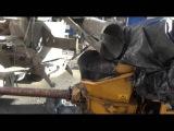 Замешивание стальной фрезерованной фибры