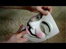 "Маска Гая Фокса (Anonymous) из фильма ""V for Vendetta"""