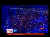 Понад 40 тисяч глядачв заспвали гмн Украни разом з гуртом Океан Ельзи
