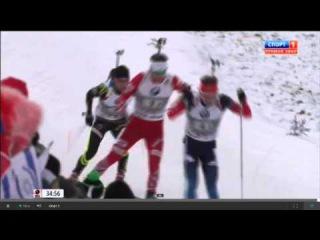 Биатлон 2014-2015 Кубок мира 2 этап Эстафета Мужчины Трансляция от 13 12 14 из Австрии