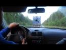 через поля русские, по дорогам сложенны...к родному дому едем