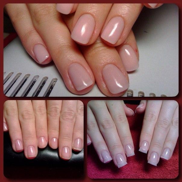 Армирование ногтей
