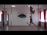 Malenkih  Afromeeva Pole Dance duet