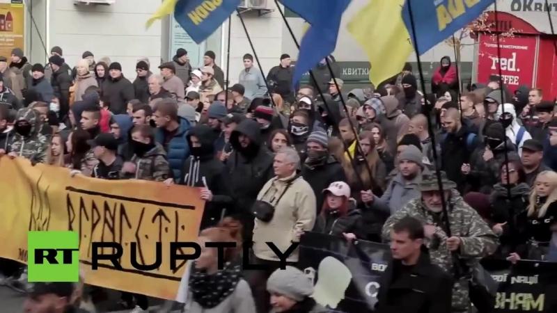 Gefährliche Spiele mit Ultranationalisten spalten die Ukraine weiter