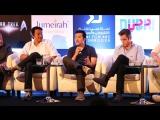 Пресс - конференция посвященная началу съемок третьего Стартрека в Дубаи (30 сентября, 2015)