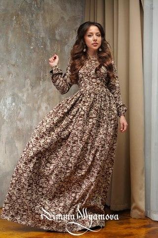 Длинное платье в нальчике