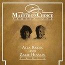 Alla Rakha and Zakir Hussain 1991 Maestros Choice