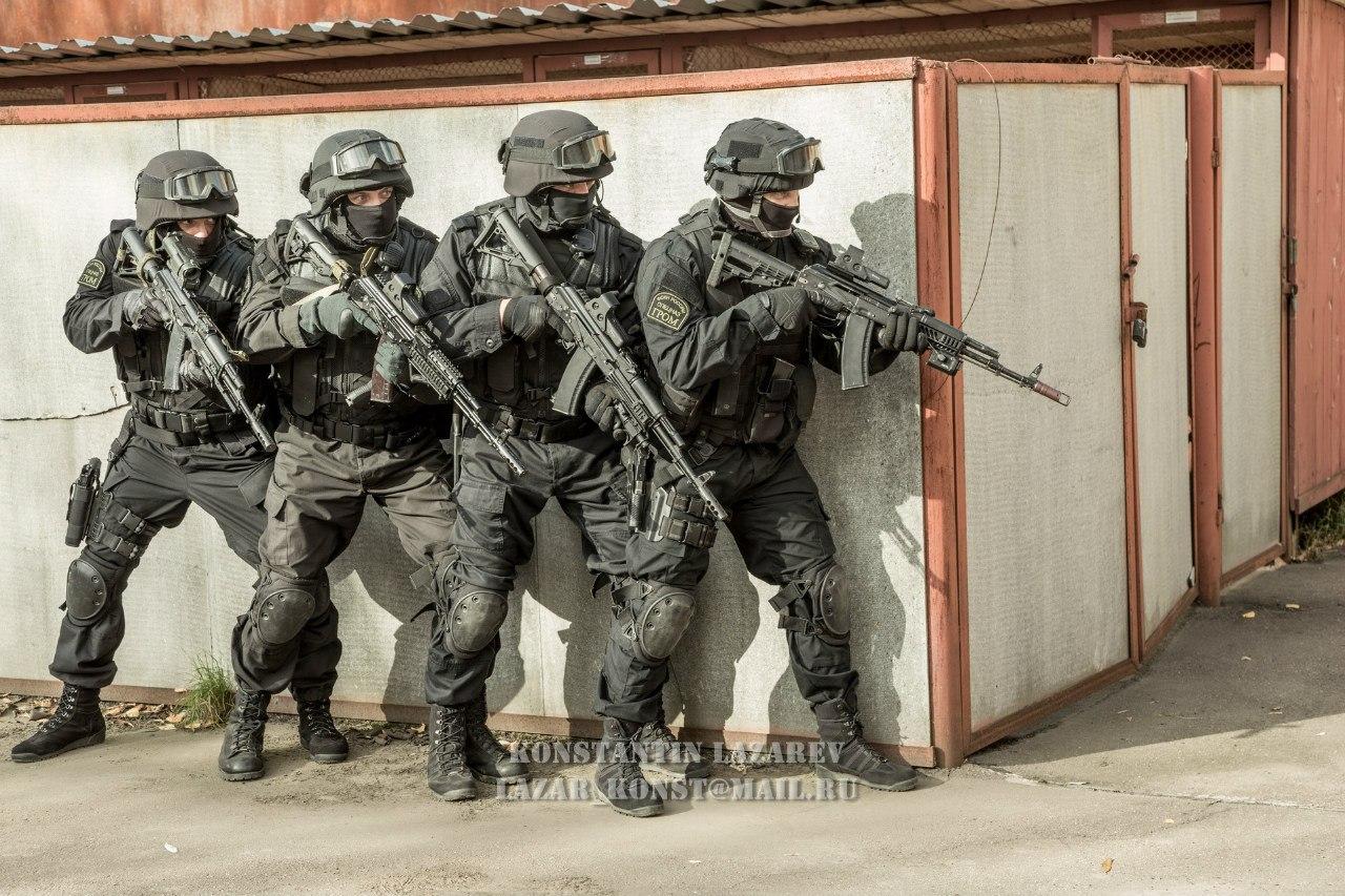 Специальная подготовка спецназа ФСКН