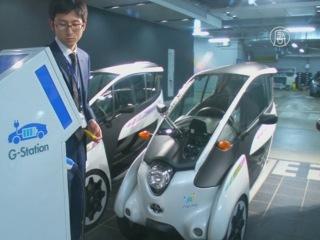 3-колёсные электрокары Toyota сдадут в аренду в Токио